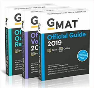 Combo GMAT Official Guide 2019 Bundle