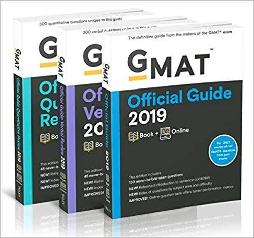 Combo GMAT Official Guide 2019 Bundle
