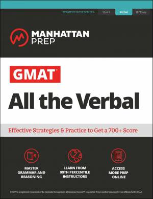 GMAT All the Verbal - Manhattan Prep