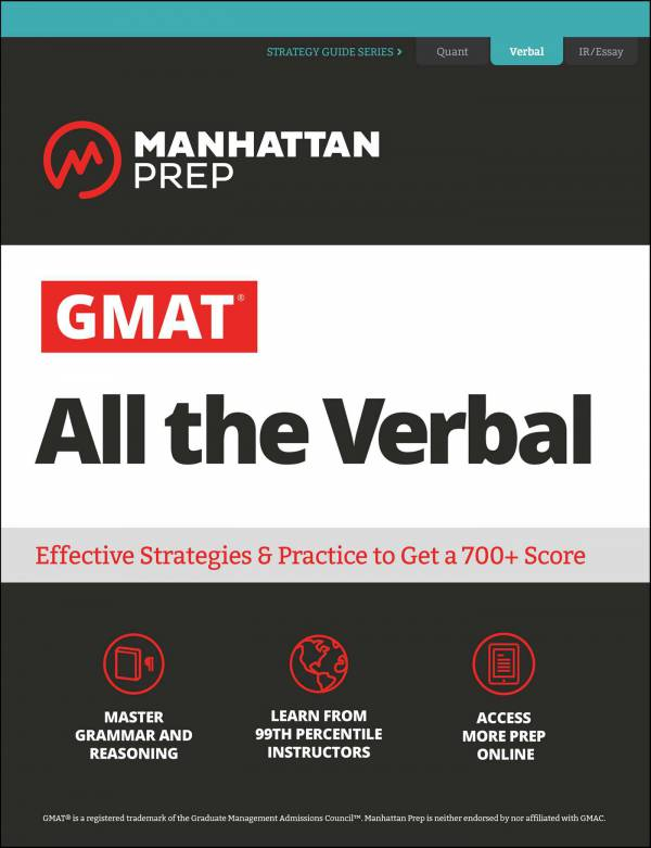 GMAT All the Verbal - Manhattan Prep