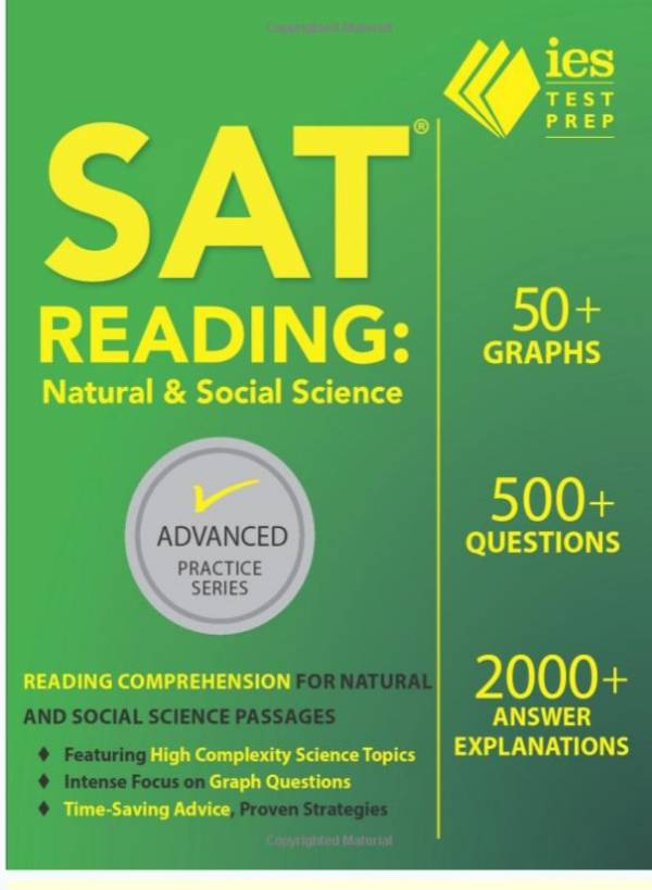 SAT Reading: Natural and Social Science (Advanced Practice Series)