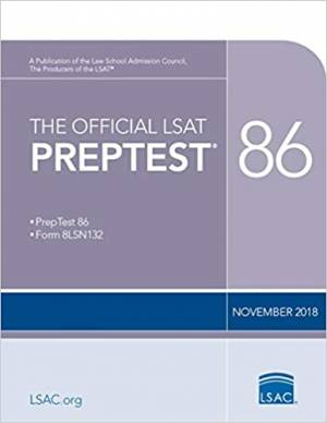 The Official LSAT PrepTest 86